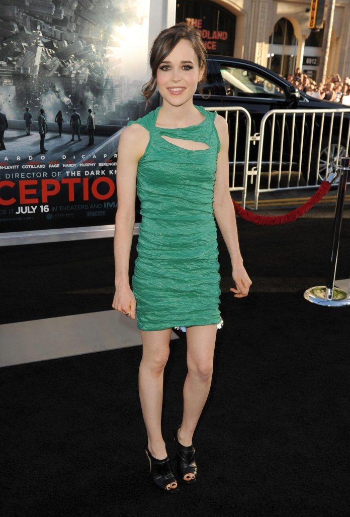 Ellen Page sexy look