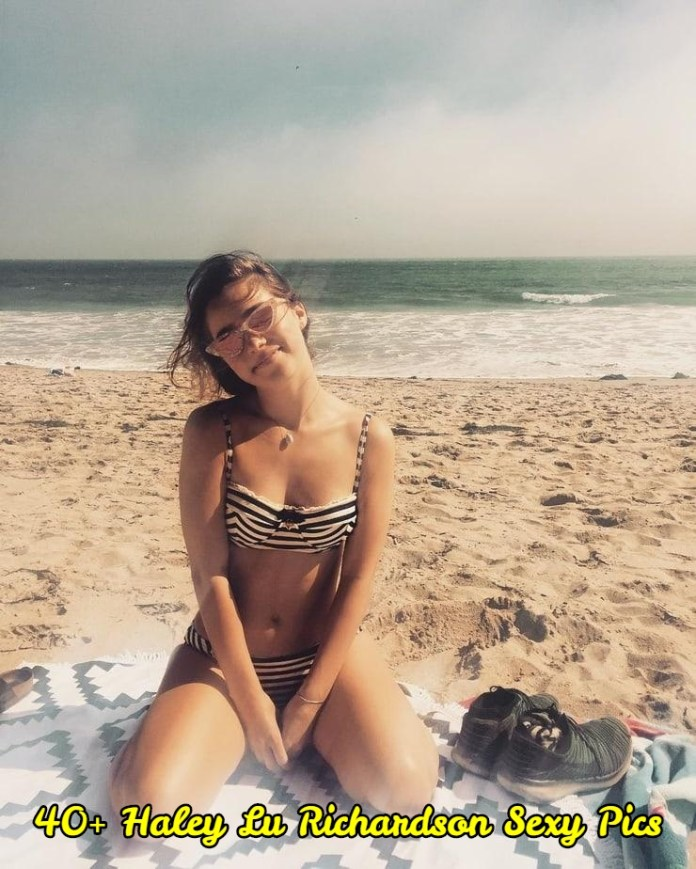 Haley Lu Richardson sexy pictures