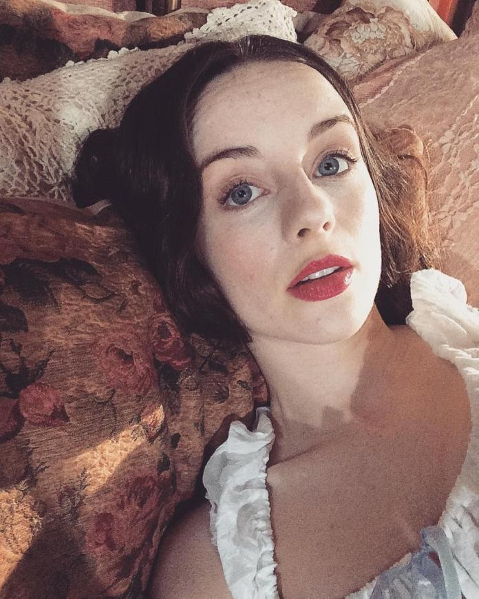 Kacey Rohl hot look