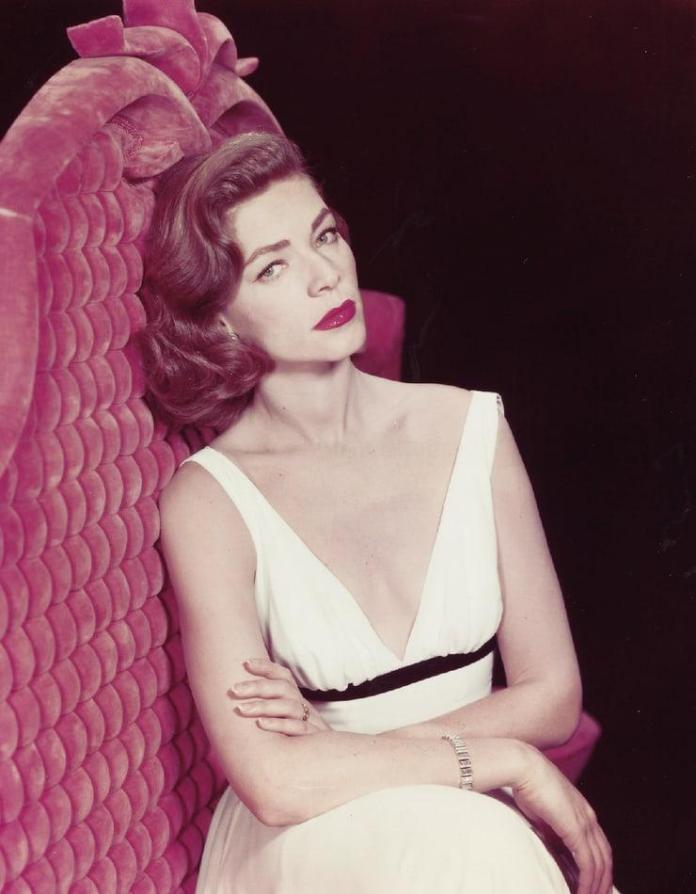 Lauren Bacall hot look