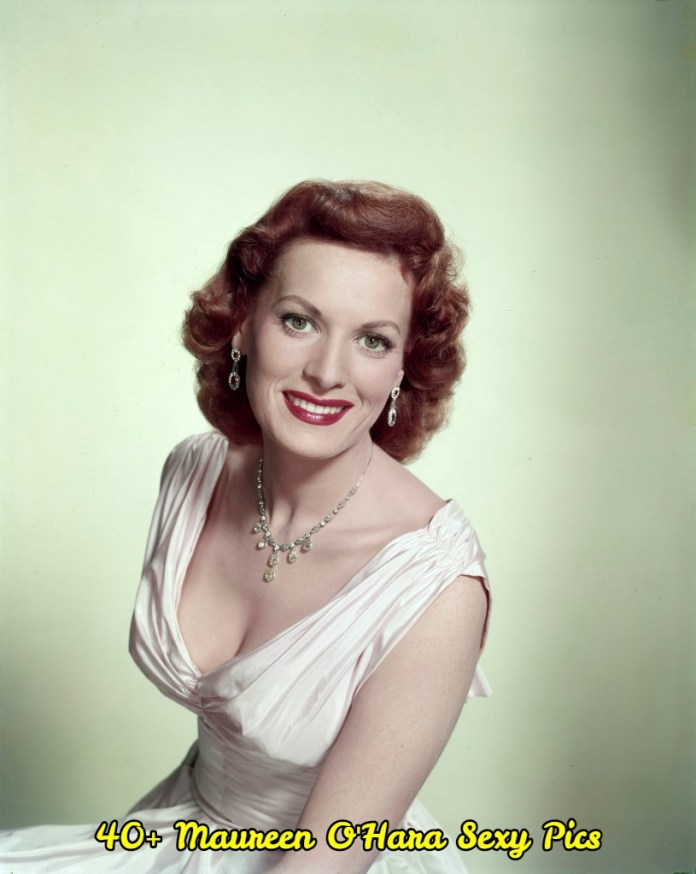 Maureen O'Hara sexy pictures