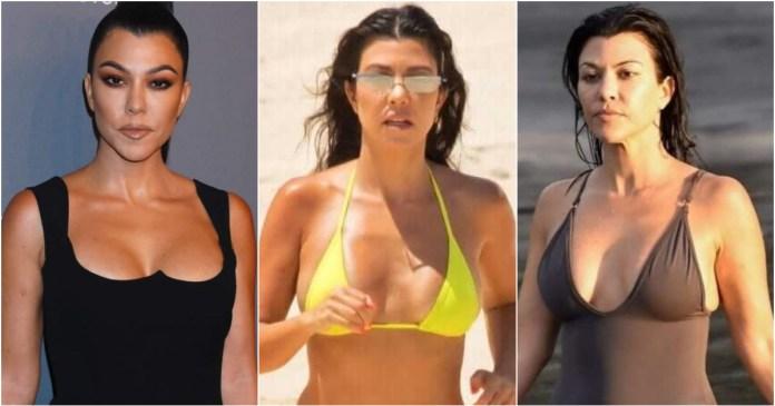 41 Hottest Pictures Of Kourtney Kardashian