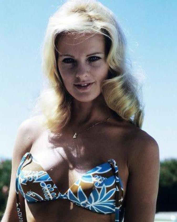 Angel Tompkins sexy cleavage pics