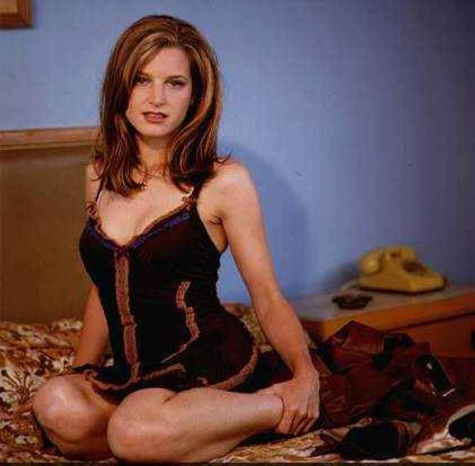 Bridget Fonda sexy lingerie pics