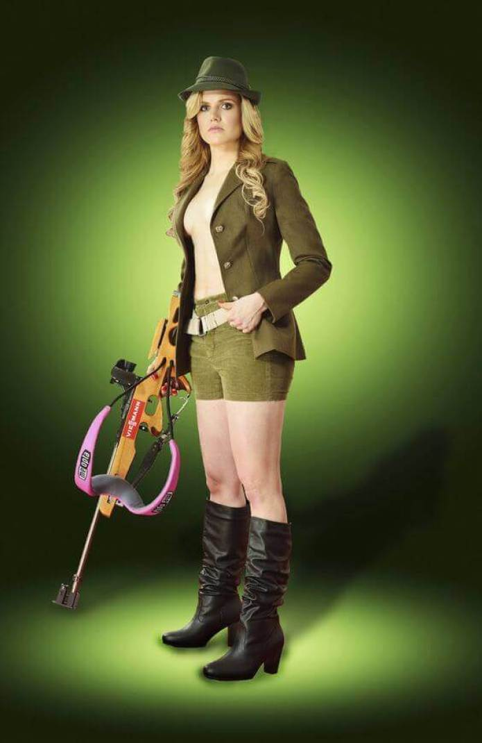 Gabriela Soukalová hot side tits pics