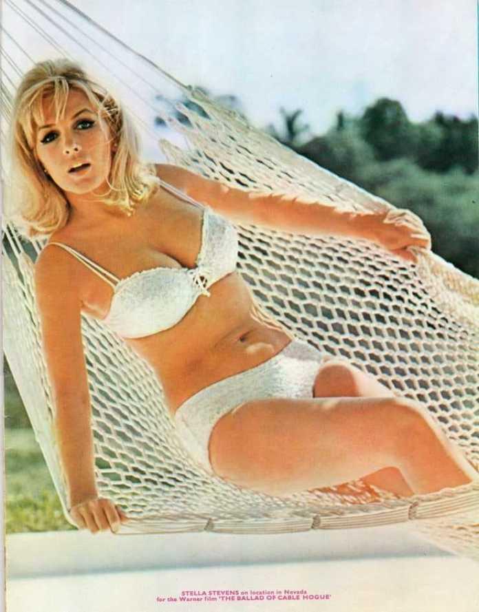 Stella Stevens bikini pics