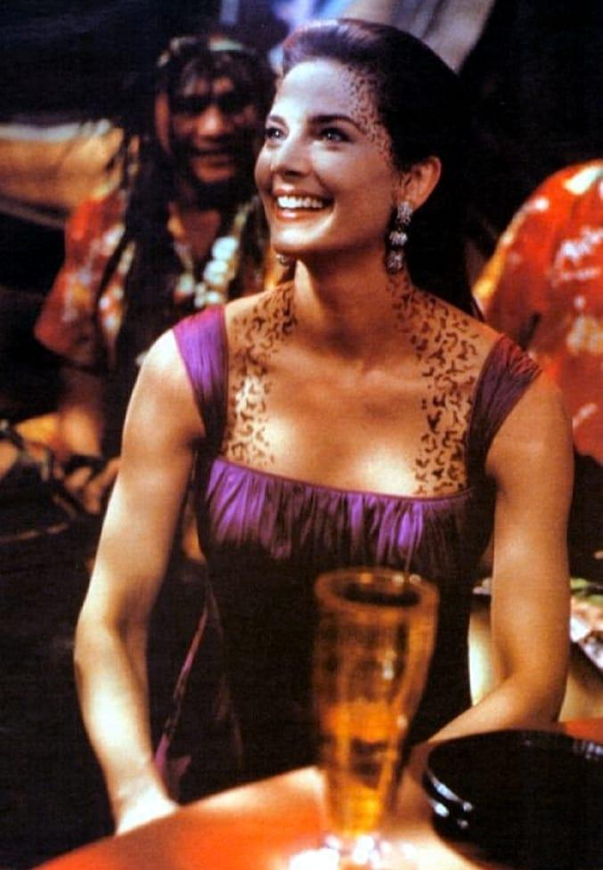 Terry Farrell Hot cleavage