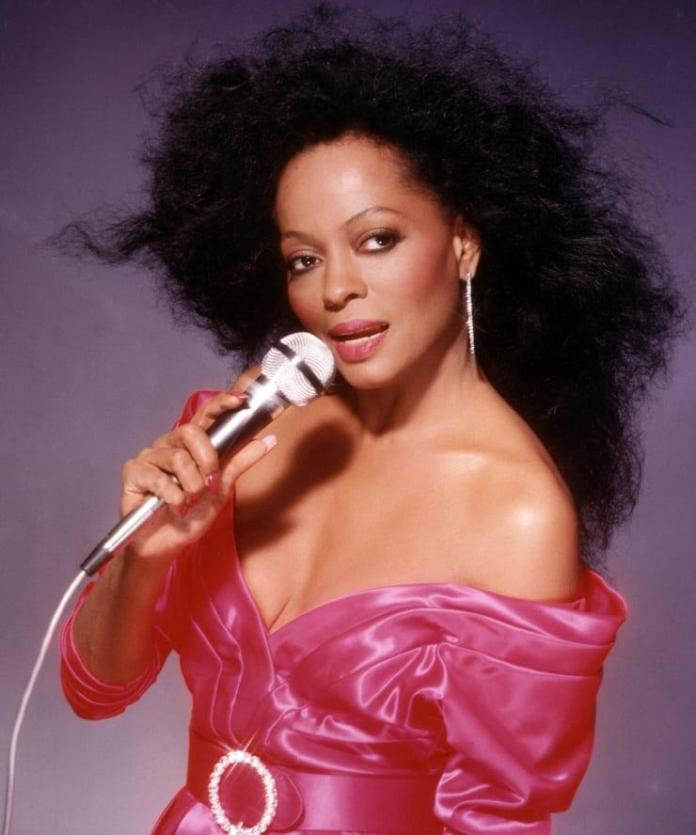 diana ross sexy cleavage