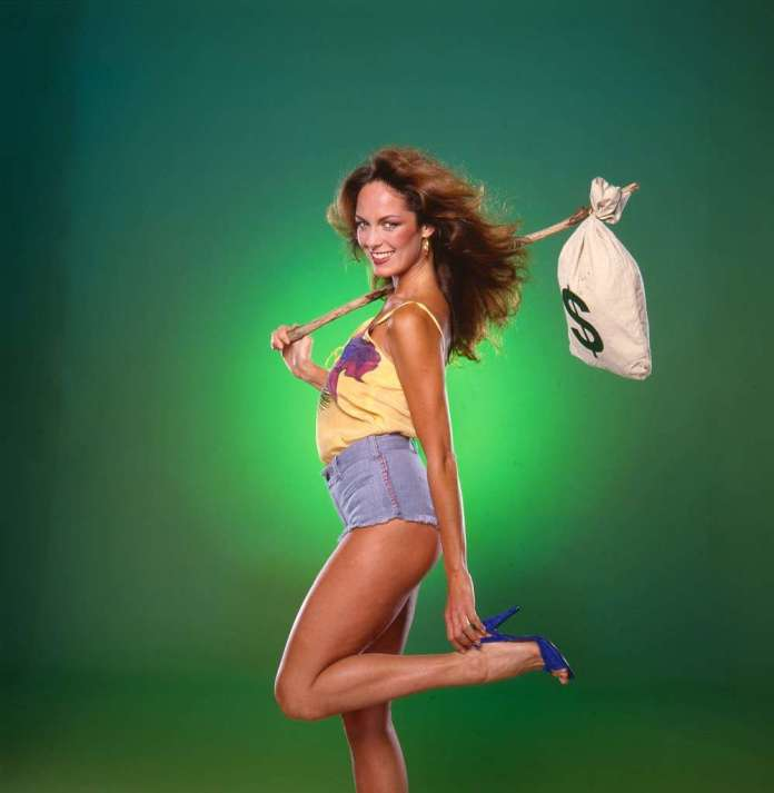 Catherine Bach sexy look