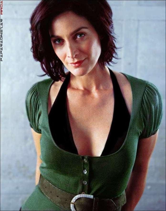 carrie-anne moss hot