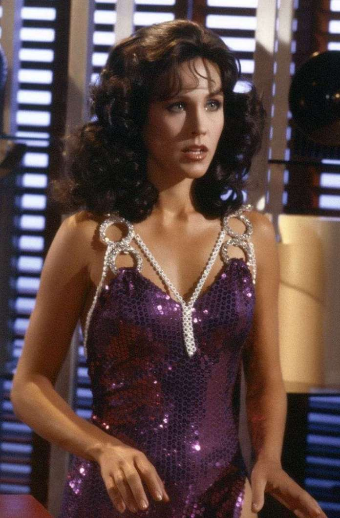 erin gray cleavage