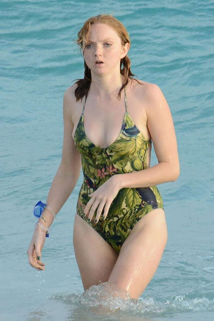lily cole swimsuit