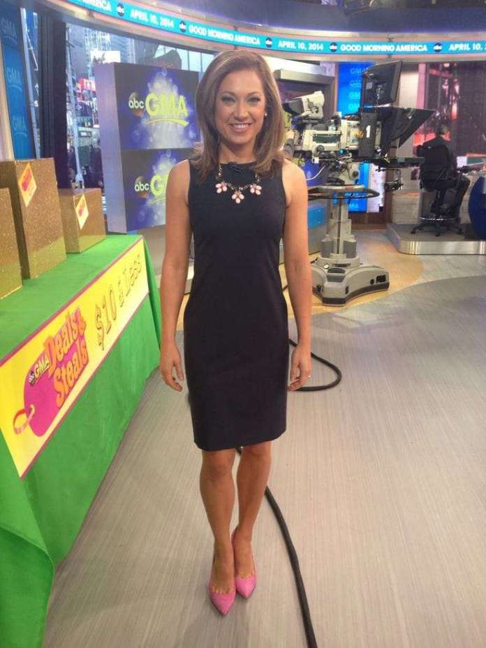 Ginger Zee sexy