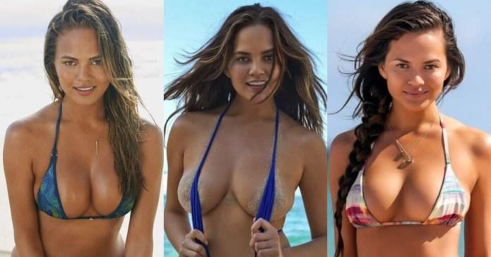 41 Sexiest Pictures Of Chrissy Teigen