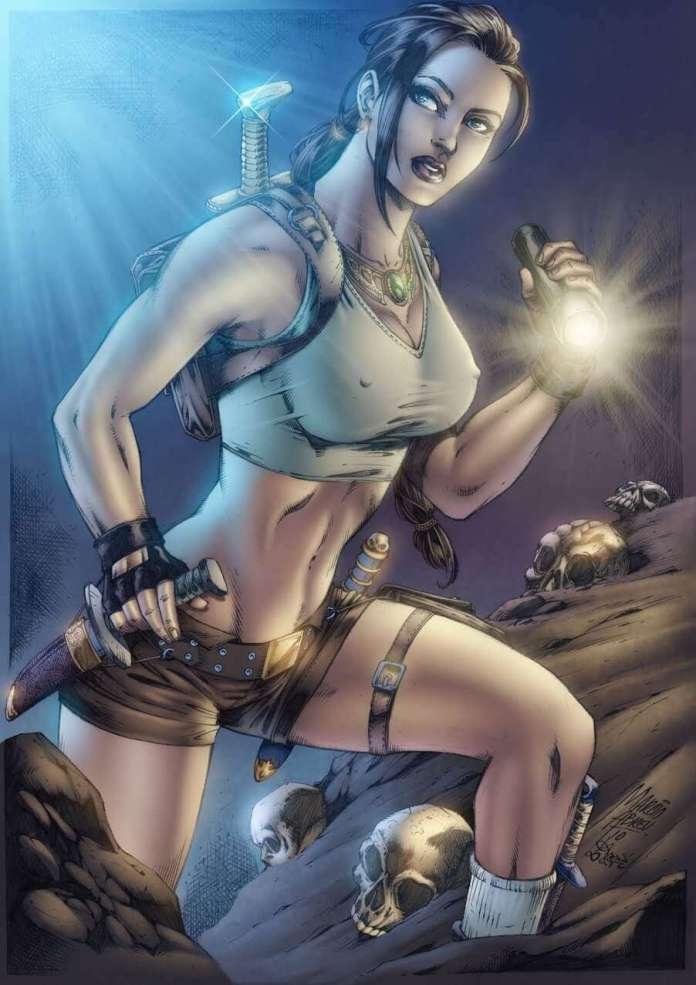 Lara Croft hot look