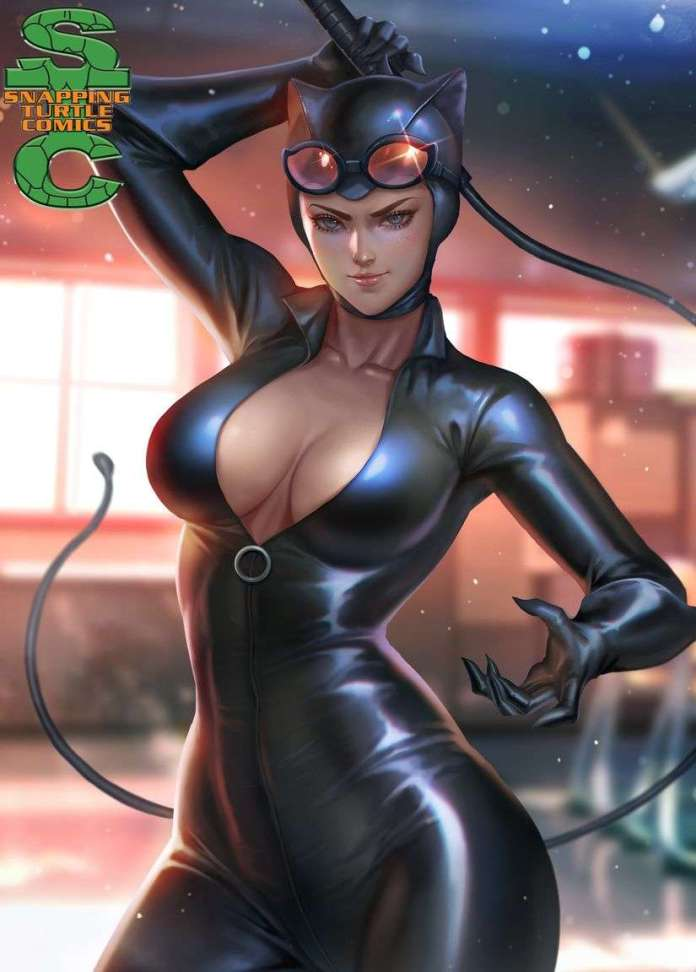 Catwoman hot look