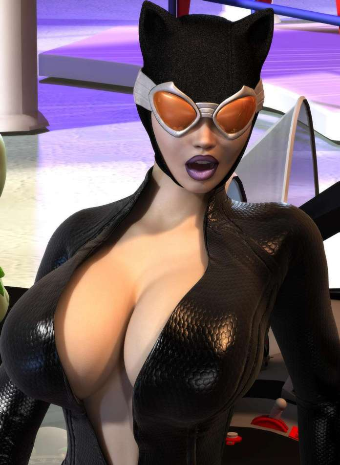 Catwoman sexy look