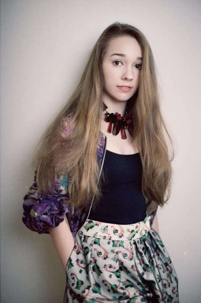Holly Taylor hot look