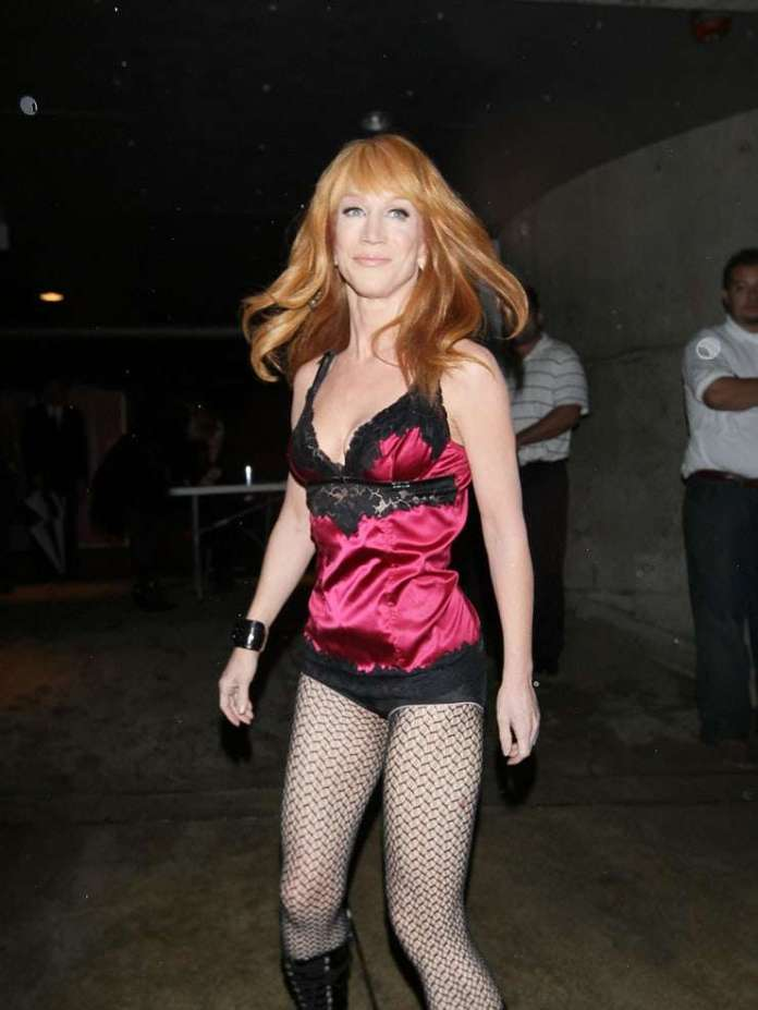 Kathy Griffin sexy look