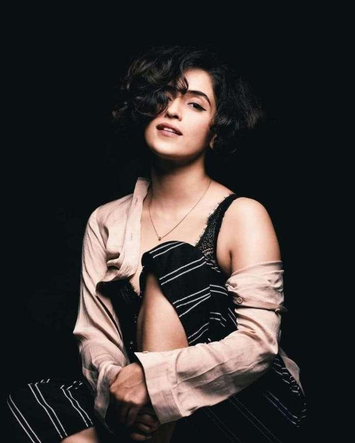 Sanya Malhotra hot look