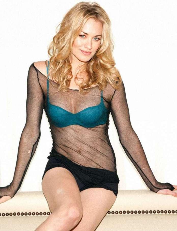 Yvonne Strahovski sexy look