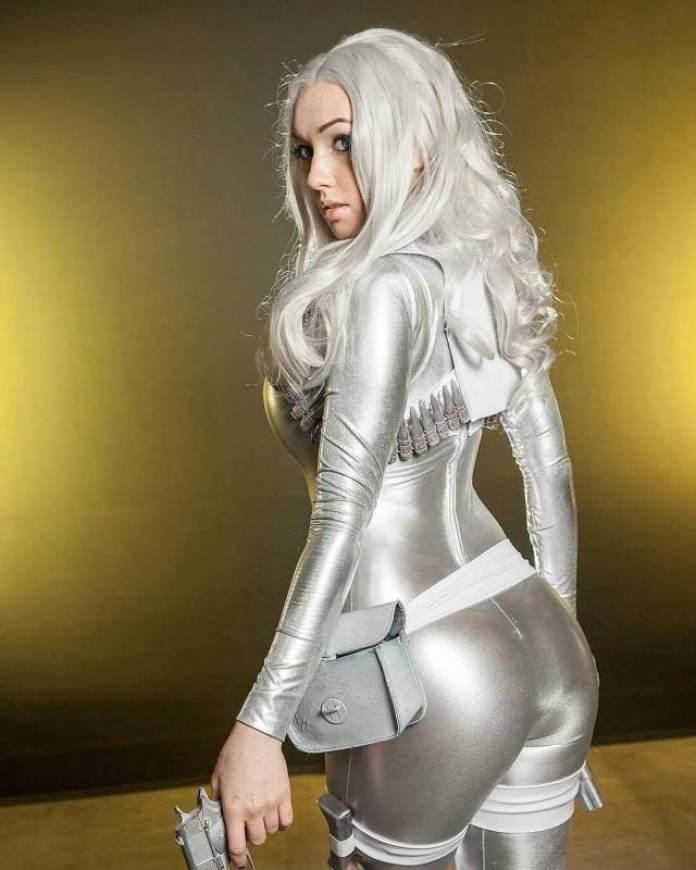 Silver Sable butt pics