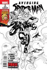 Avenging_Spider-Man_Vol_1_9_Second_Printing_Variant
