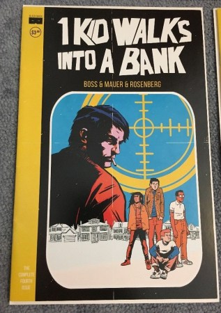 4 kids Walk into a bank #1 secret variant