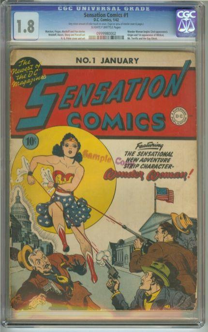 Sensational Comics #1