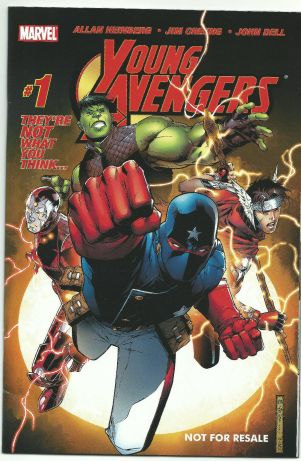 Young Avengers #1 Toy Biz