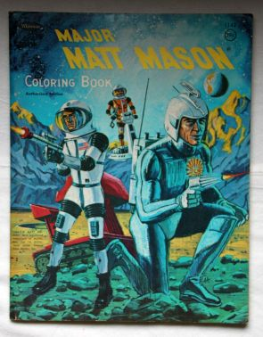 Major Matt Mason Coloring Book