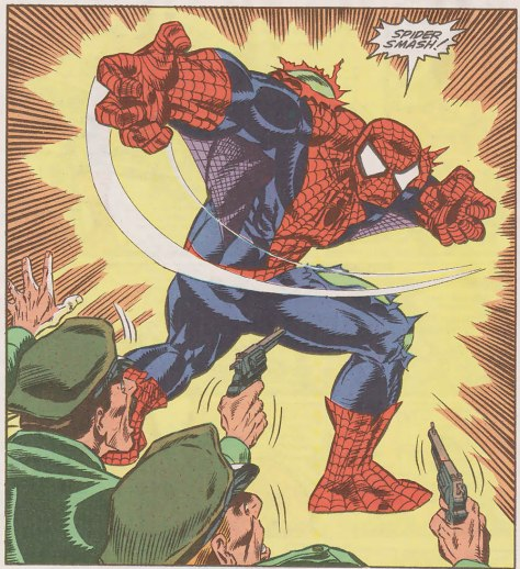 web of spider-man 70 4