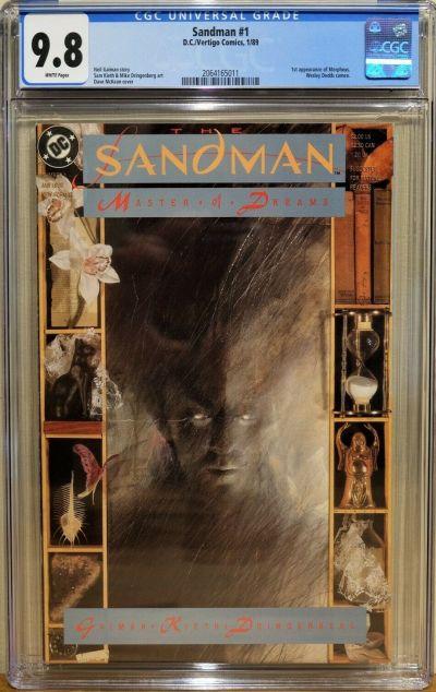 Sandman #1 CGC 9.8