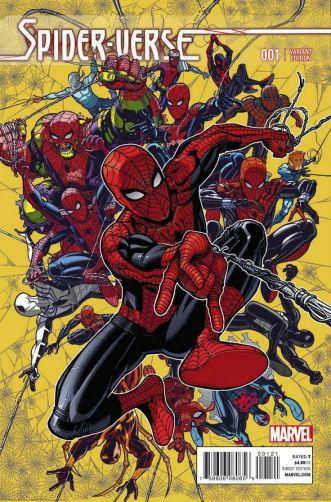 Spider-Verse #1 NickBadshaw