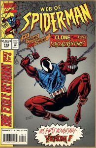 WEB OF SPIDER-MAN 118