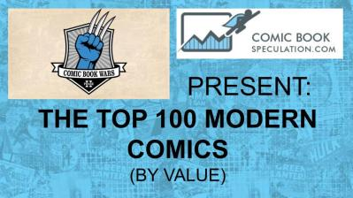 80-61 THE TOP 100 MODERN COMICS (BY VALUE)(21)