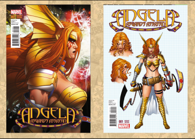 Angela Asgards Assasin #1 B