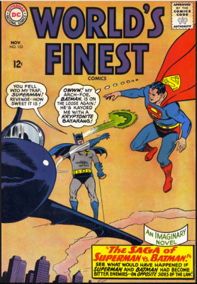 World Finest #152 Cover
