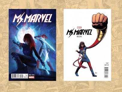 Ms Marvel #12 1