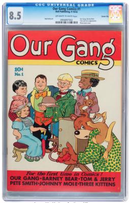 Our Gang Comics #1