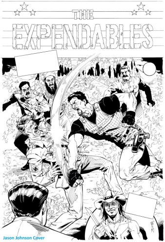 The Expendables Jason Johnson Cover