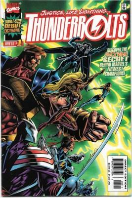 Thunderbolts #1 1997