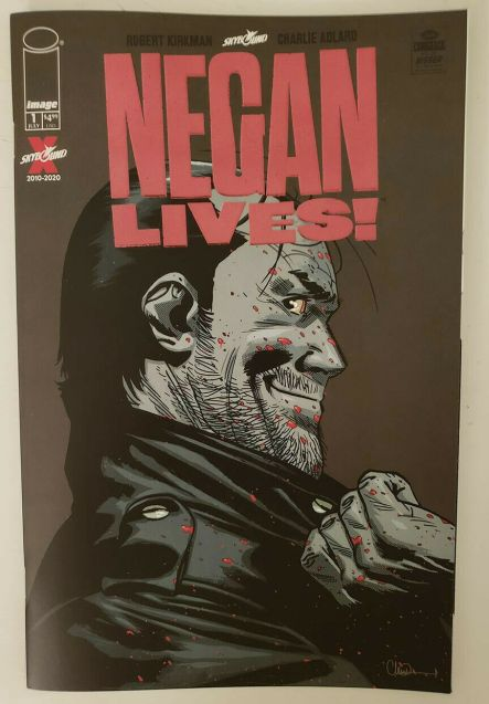Negan Kills Red Foil