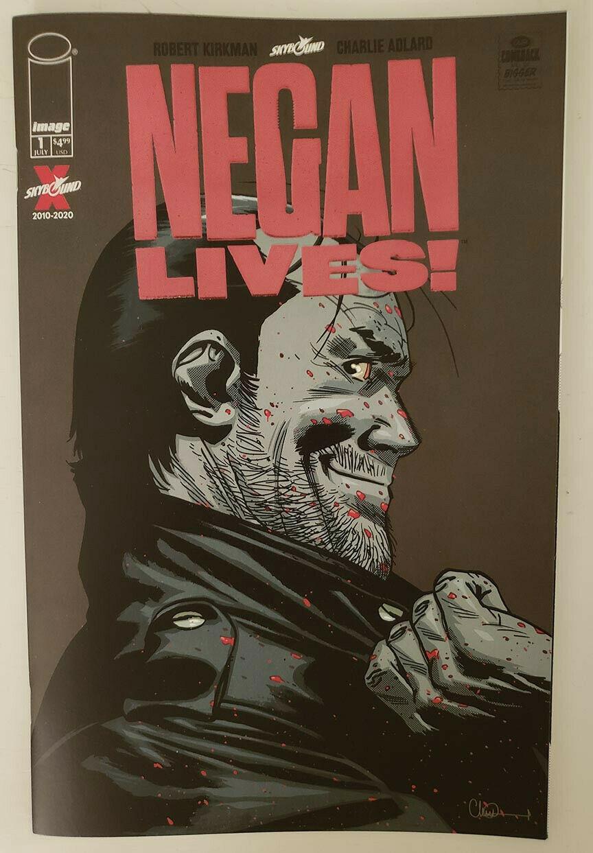 Negan Kills Red Foil Variant