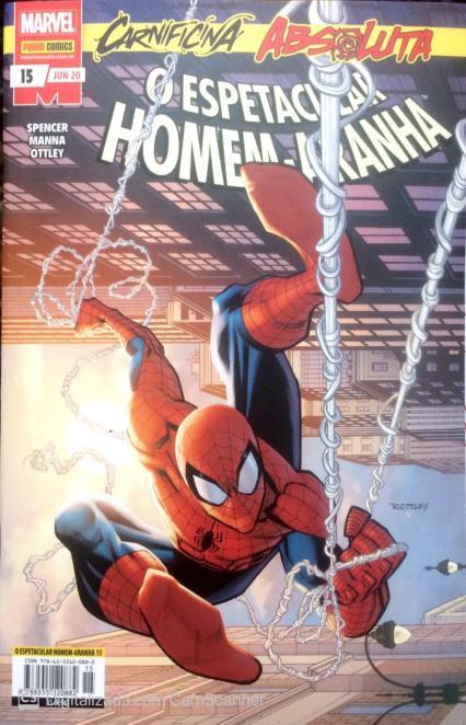 O Espetacular Homem-Aranha #15 – Comic Boom