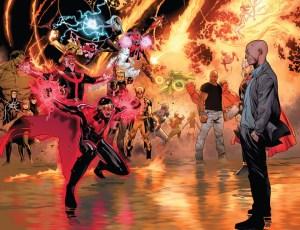 Olivier Coipel - Avengers vs X-Men