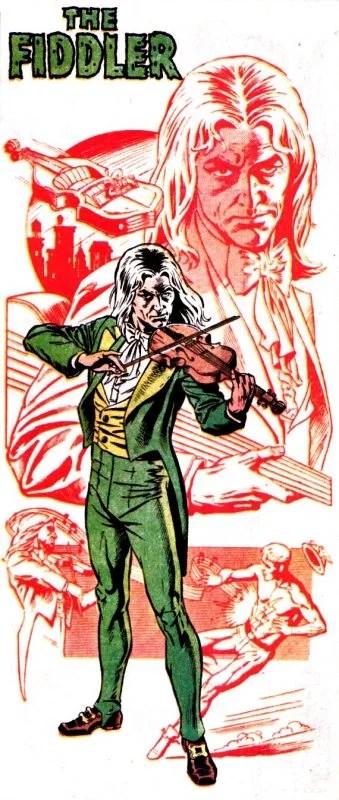 DC Villains: Fiddler