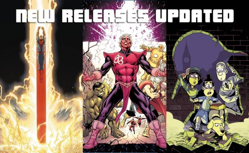 Weekly Comic List – March 9th, 2016
