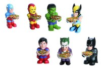 Marvel And DC Heroes Candy Bowl Holders   ComicDomain.co ...
