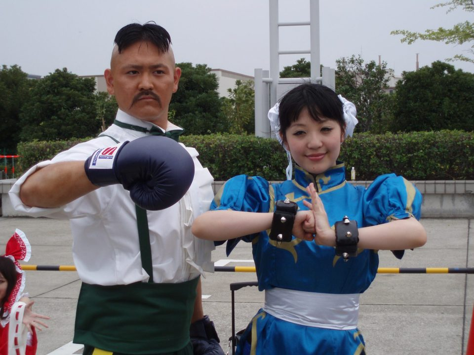 Dudley and Chun Li from Comiket 78